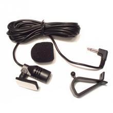 Microfone externo de áudio estéreo, microfone 3.5mm, preto, 50hz 20khz, gps, para carro, bluetooth, montado microfone