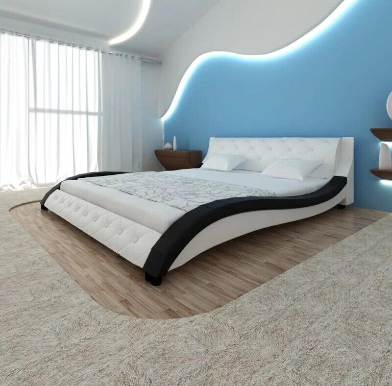 VidaXL 235X161X70 см искусственная кожа кровать без матраса водостойкий PU искусственная кожа спальня кровать игрушечная, игрушечная мебель