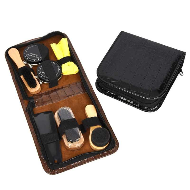 7 шт./компл. щетка для обуви профессиональные средства по уходу за обувью набор