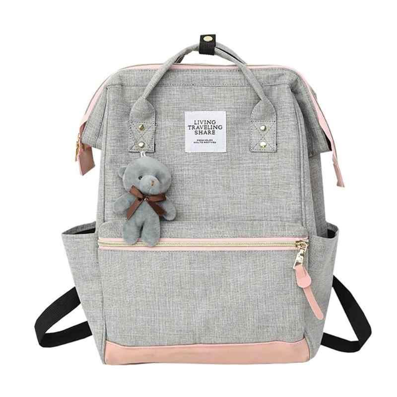 3adf36ff31b1 Женский рюкзак из ткани Оксфорд в консервативном стиле для  девочек-подростков, школьная сумка высокого