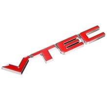MAYITR High Quality Metal VTEC Logo Emblem Car Body Badge Sticker Decal for Honda Civic Accord Odyssey Spirior CRV Red + Silver