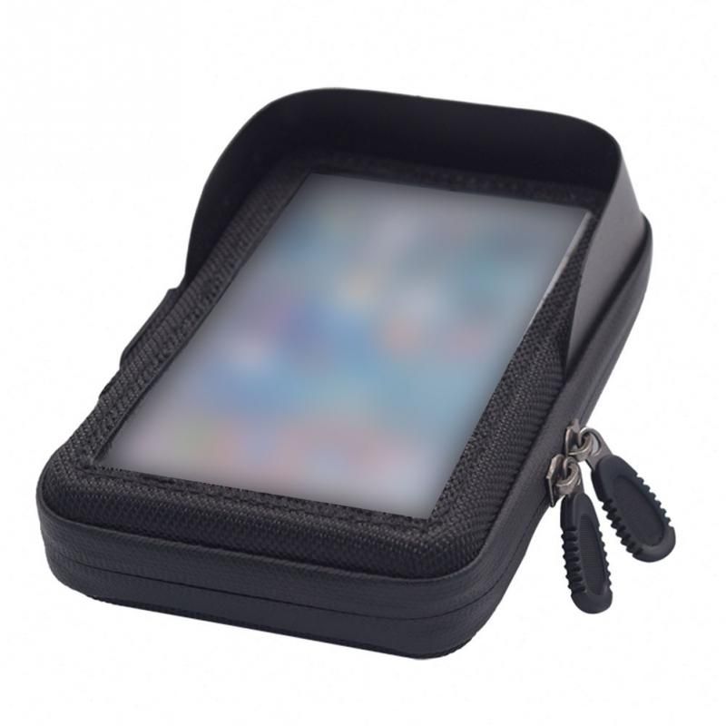 Phone Holder Touch Screen Tube <font><b>Bike</b></font> Motorcycle <font><b>Case</b></font> Bag Waterproof Accessories image