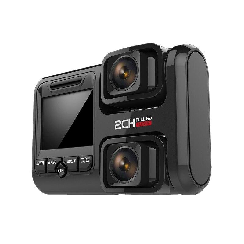 Dvr Fhd1440P Double caméras avant enregistreur vidéo Sony323 avec fonction Wifi caméra de bord haute définition pour voiture
