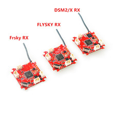 Crazybee F3 Brushless 1S Flight Controller Integrated 4in1 ESC OSD Galvanometer Frsky Flysky DSM-2/X Receiver Tinywhoop Drone