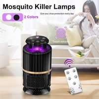 USB Electric Mosquito Repellent Light Touch Screen Mute Remote Control LED Lamp Insect Killer Quiet Mosquito Killer Lamps Led