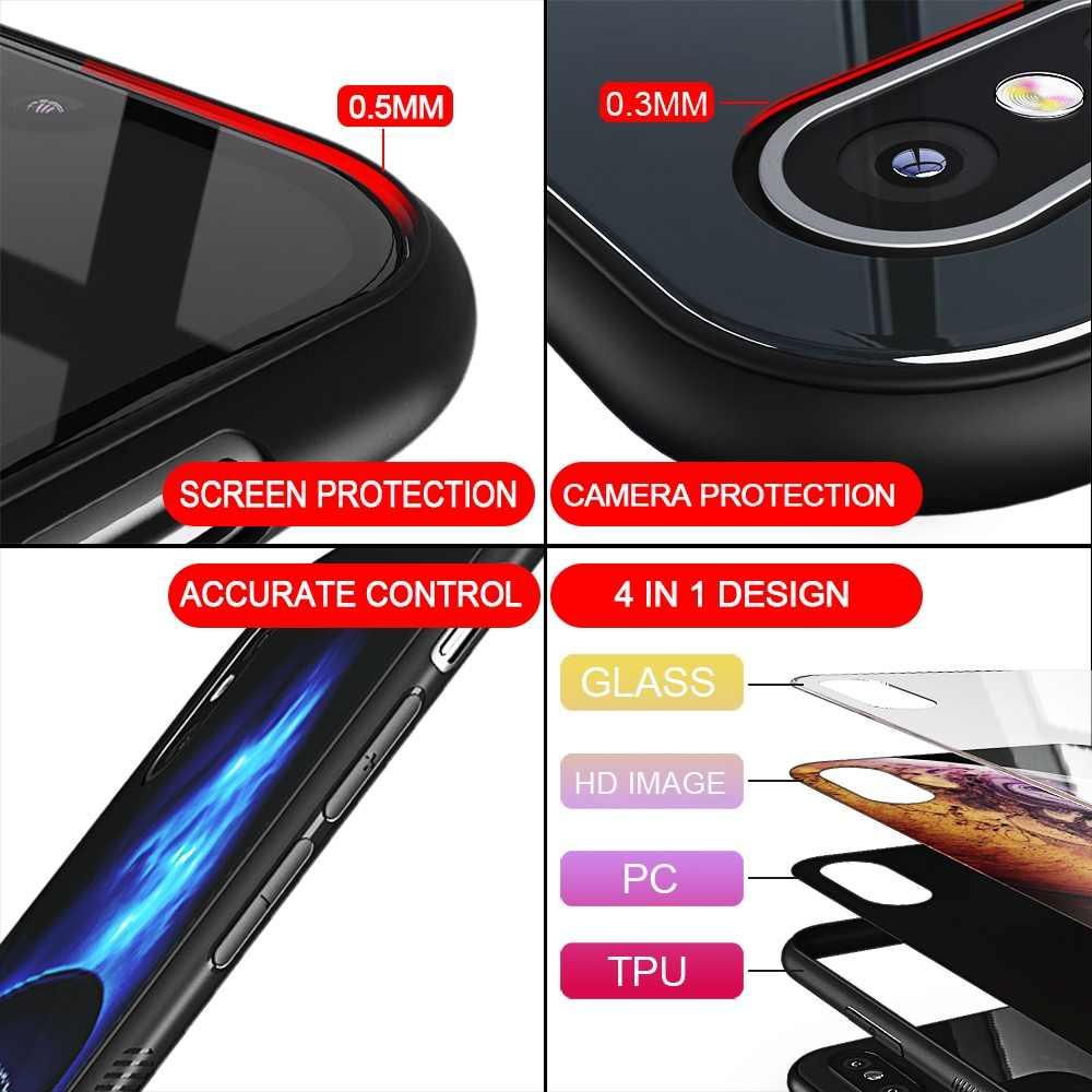 TOMKAS étui pour iphone X XS MAX XR XS étui pour téléphone en Silicone de luxe étui pour iphone 7 8 Plus étuis pour iphone 6 S 6s