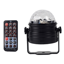 Disco Ball Light Led Party Lights Sound Activated Rotating Dj Stage Lighting Effect Rgb Mini Night Decoration Music Lamp(Eu Pl цена
