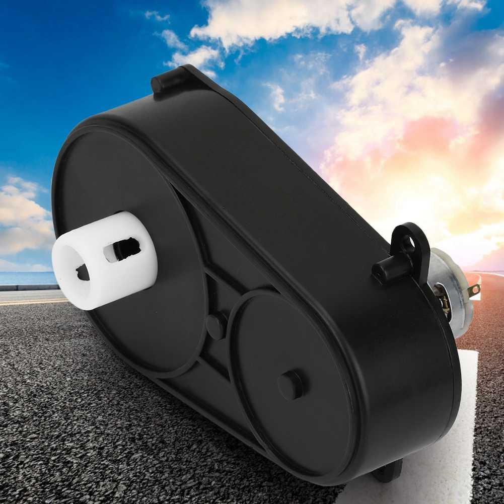 RS380 Dişli Kutusu Elektrik Motoru 6 V/12 V 5000/5500 rpm Direksiyon Şanzıman için çocuklar için araba Çocuk Oyuncak no.2 direksiyon Kontrol Motoru