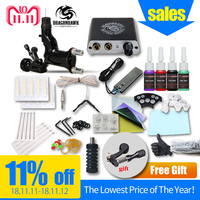 Beginner Tattoo Kit Set 1 Rotary Tattoo Machine Professional Tattoo kit Accessories