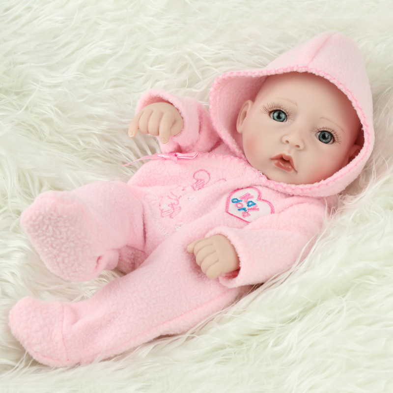 Soft Reborn Dolls Baby Toy Silicone Cute Reborn Dolls Into The Water for Bathing Baby Children Educational Toys Christmas Gift XSoft Reborn Dolls Baby Toy Silicone Cute Reborn Dolls Into The Water for Bathing Baby Children Educational Toys Christmas Gift X
