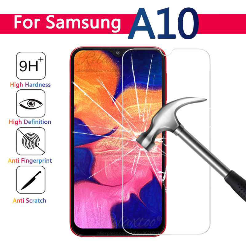 Tempered Glass For Samsung A10 A105 screen Protector Protective film For samsung Galaxy A10 a 10 phone front Safety touch glas