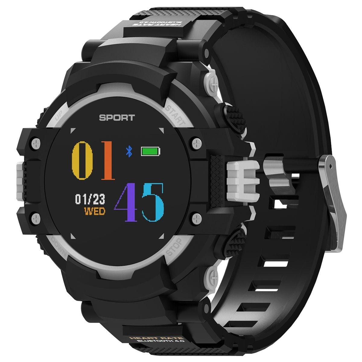 DTNO.1 F7 Atividade Rastreador GPS Dispositivos Wearable relógio Inteligente Bluetooth 4.2 relógio Altímetro Barômetro Bússola GPS ao ar livre