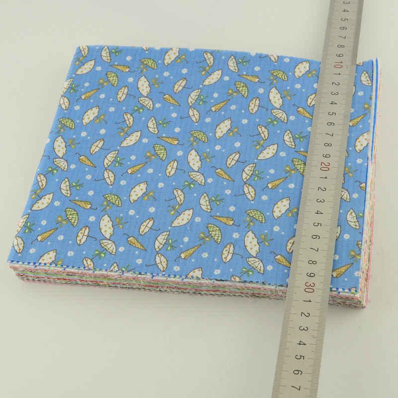 Different Color and Design Printed Flower Plain Fabric Cotton 80 PCS/lot 20*24cm Fat Quarter Scrapbooking Art Work Sewing Toys