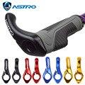 Астро руль для велосипеда  эргономичная противоскользящая резиновая ручка  замок на крышке  руль для велосипеда  3D Алюминиевые MTB дорожные в...