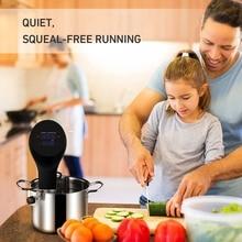 Водонепроницаемая вакуумная кулинарная машина для приготовления пищи, термопогружной циркулятор, с точной температурой цифровой таймер, регулируемый