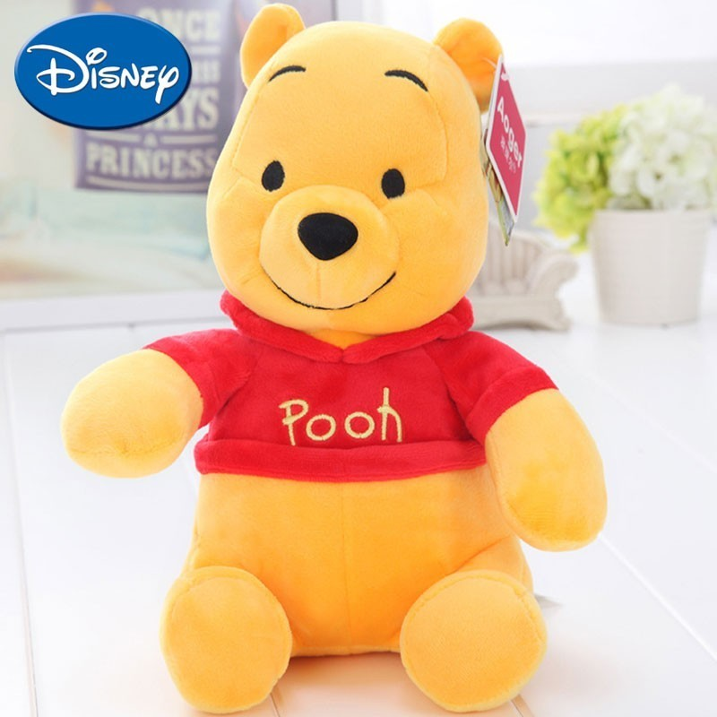 Disney Plush Toy Safe Soft Plush Stuffed Toy The Pooh Tigger Piglet Cartoon Doll For Kids Children Birthday Holiday Cute Gift