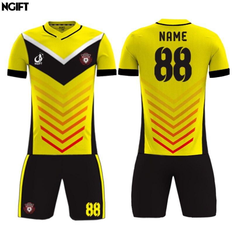 Ngift 2018 fully sublimation custom soccer jersey