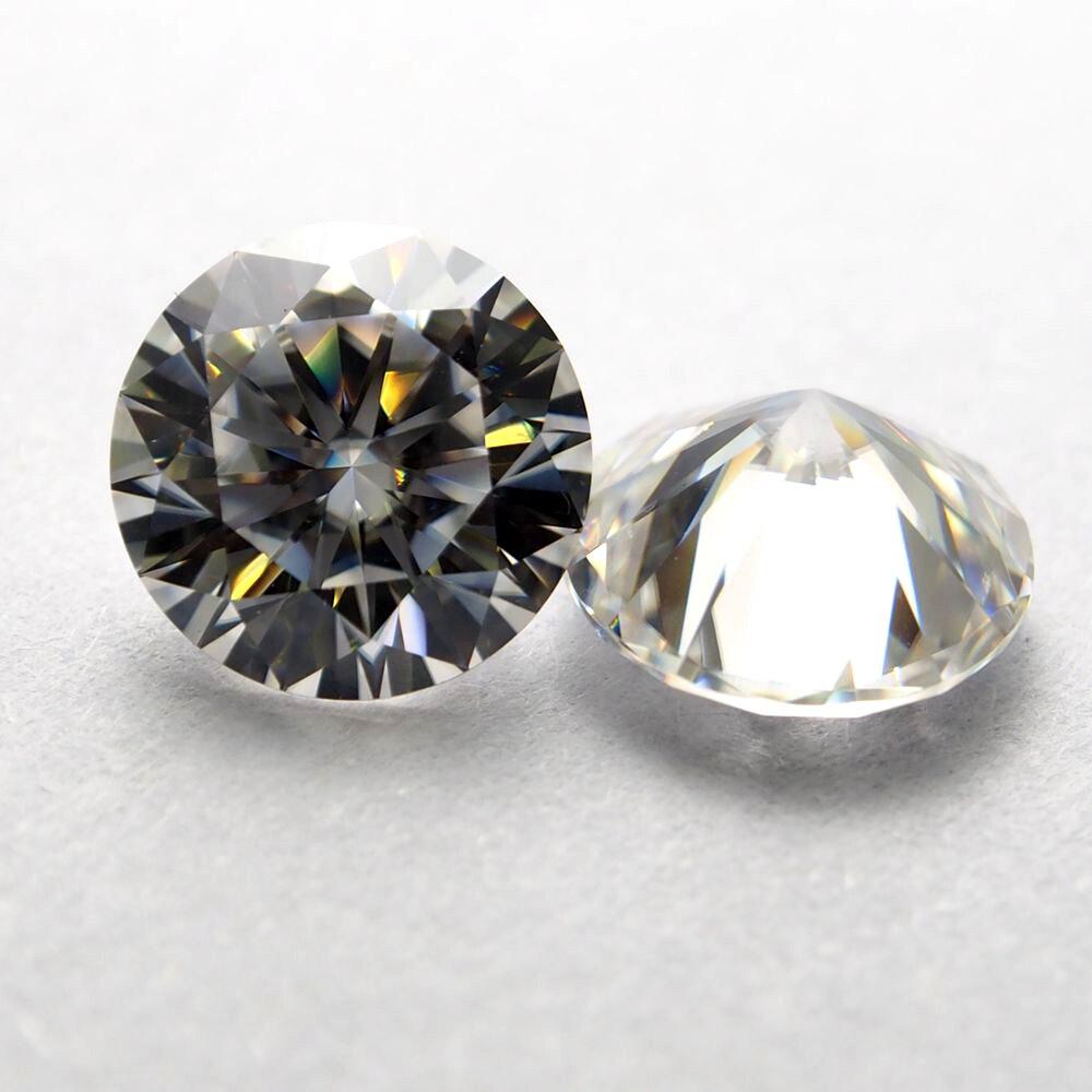6.5mm DEF Coeur et Flèches Cut Blanc Moissanite Pierre Laboratoire Moissanite Diamant 1 carat pour Anneau