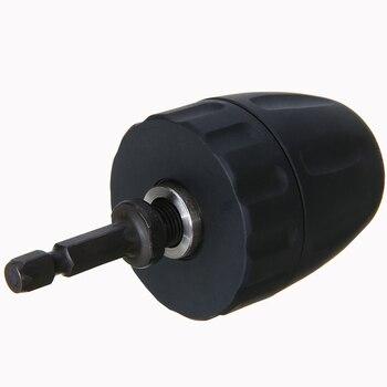 цена на Keyless Drill Chuck Screwdriver Impact Driver Adaptor 1/4 '' Shank To 3/8'' Hex Shank Adapter Mayitr Drill Bits Hot Selling