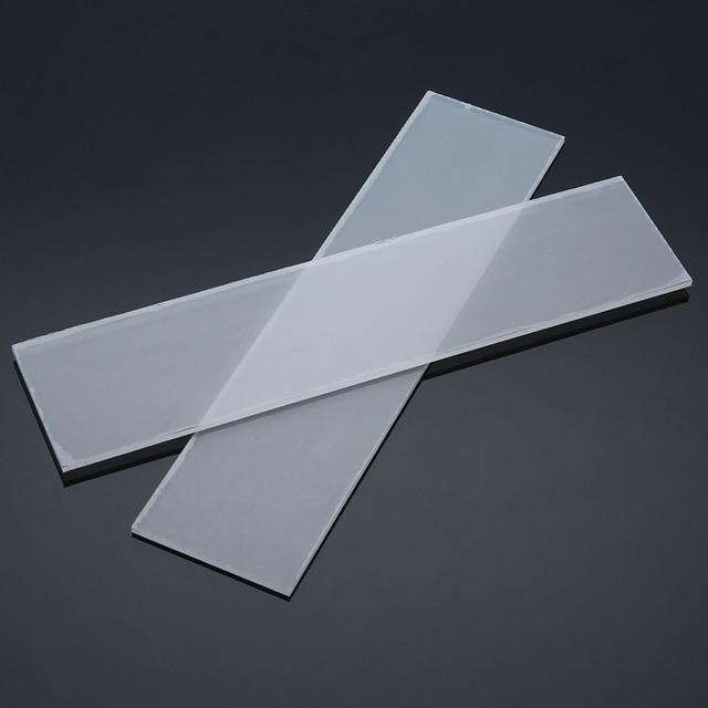 2Pcs 225x54x3mm Transparent Generic Acrylic Cutting Plates For Sizzix Big Shot For Tool Parts DIY Cutting Plates
