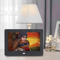 7 Inch Digital Photo Frame LED Backlight Electronic Album Picture Music Video Full Function Good Gift For Friends & Family