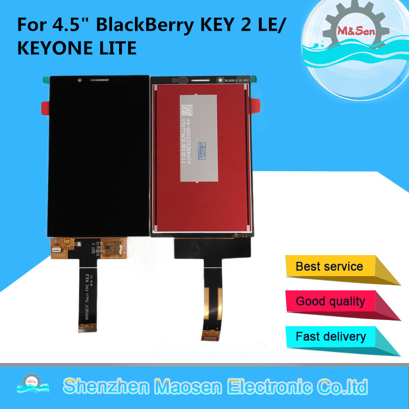 M Sen For 4 5 BlackBerry KEY 2 LE KEY TWO LE LCD Display Screen Touch