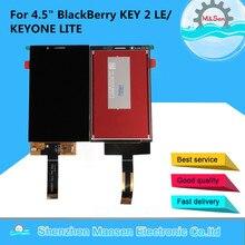 """Orijinal M & Sen 4.5 """"BlackBerry KEY2 LE anahtar iki LE LCD ekran ekran + dokunmatik Panel ekran Digitizer BBE100 4 BBE100 5"""