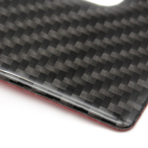 Image 3 - Für Audi Q5 2009 2010 2011 2012 2013 2014 2015 2016 2017 Carbon Faser Auto Wasser Tasse Halter Panel Abdeckung