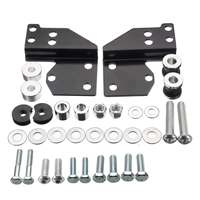 High quality Detachables Front Docking Hardware Set Kit for Harley Road for King Electra Street Glide 1997 2008