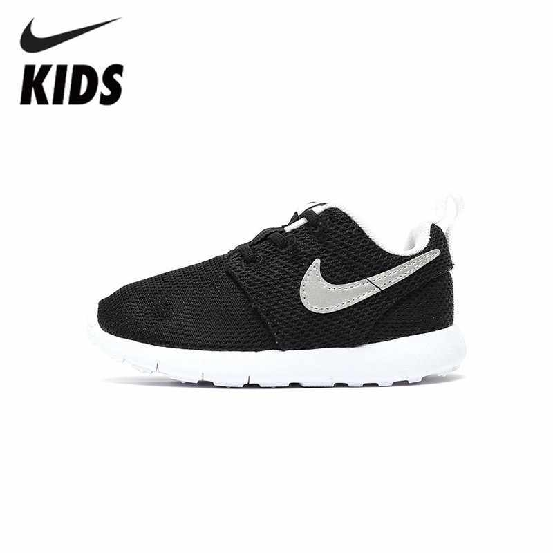 on sale 4f3cb 73958 NIKE ROSHE ONE TDV Original Kids Mesh Running Shoes ...