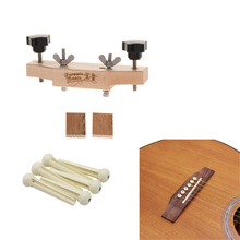 1 set Stringed Instruments  Practical Guitar Bridge Install Clamp with String Pegs for Luthiers Tool tech tool ptt 2 04 55 vcads pro crack devtool2 file encryptor decryptor v0 2 1 install unlimited computer for volvo