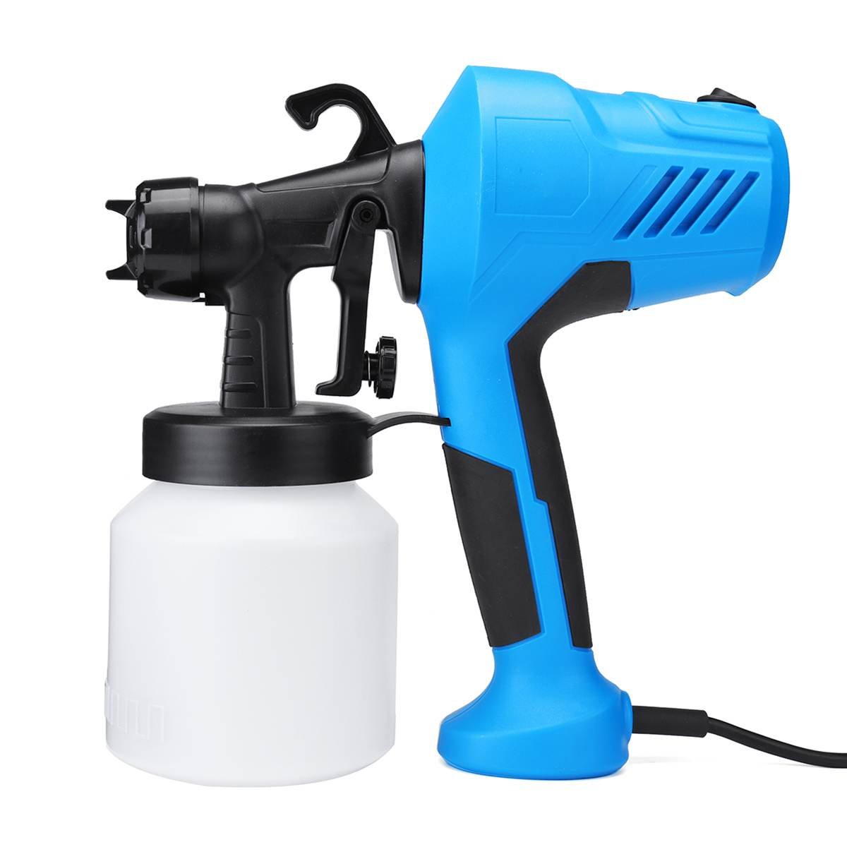 350W Power Electric Spray Gun, Electric HVLP Paint Sprayer Airless, 2 5mm  Nozzle Easy Spraying and Clean Perfect For Home DIY