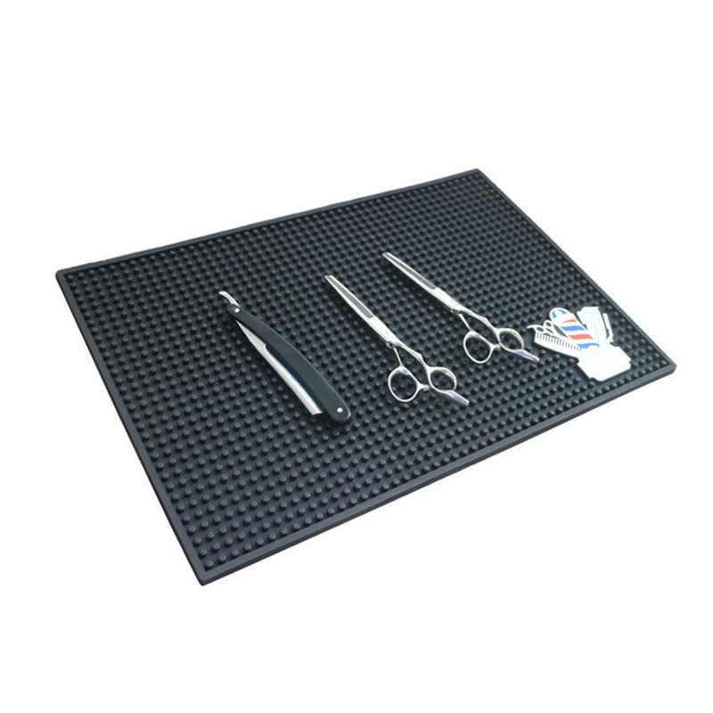 1pc Nonslip Flexible PVC Counter Mat For Bar Sevice Barber Shop Work Station Pads Beauty Salon Tools For Hairstylists