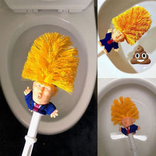 Donald Trump Toilet Bowl Brush Gag Gift hand made Brushes Make Toilets Clean Lot Prank Funny Joke