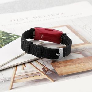 Image 5 - Smooth Watch Bands Classic Canvas Straps With Metal Connector Replace Durable Women Men Wristband Wear Resistant Fitness Tracker