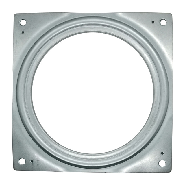 155mm zinc plated 30kg galvanized steel square rotary thrust lazy susan bearing desk TV screen shower dinner table swivel plates