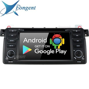 Android 9.0 RK339 PX6 Car 1DIN Audio DVD Player For BMW 3 Series E46 M3 318i 320i 325i 328i Rover 75 MG ZT Stereo Radio GPS NAVI