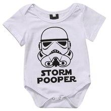 Toddler Baby Girls Boys Storm Pooper Romper Baby Girls Boys