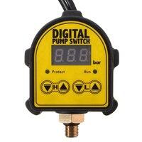 1pcs Mayitr Digital Display Eletronic Pressure Controller Switch Air Pump Water Pump Compressor Switch Water Pressure Switch