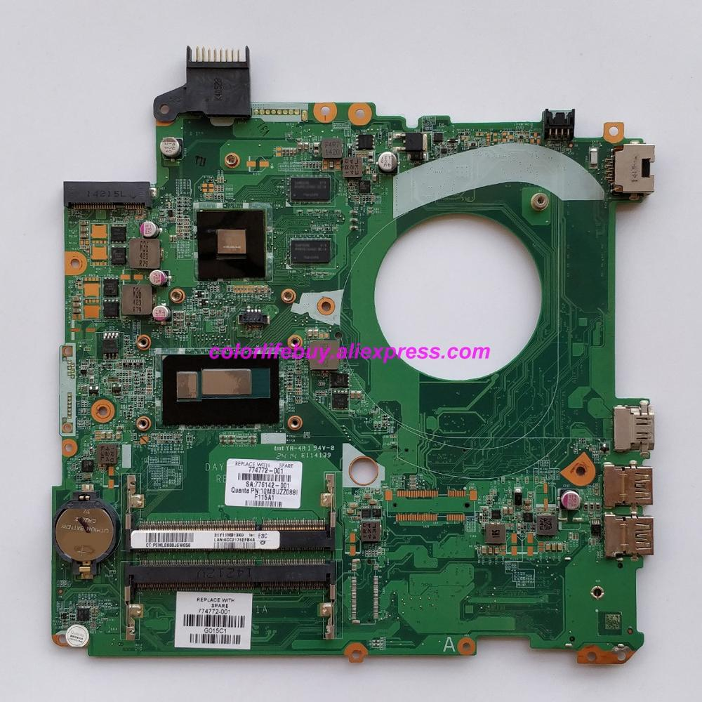 Genuine 774772 001 774772 501 774772 601 830M/2G i3 4030U Laptop Motherboard for HP 15 P Series 15 p046TX 15 p048TX NoteBook PC-in Laptop Motherboard from Computer & Office