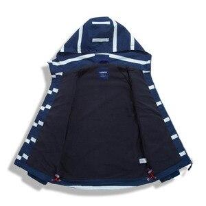 Image 4 - Çocuk su geçirmez ceketler dış giyim spor ceket rüzgar geçirmez Polar Polar sıcak tutan kaban sonbahar çocuk ceket çocuklar kapşonlu rüzgarlık