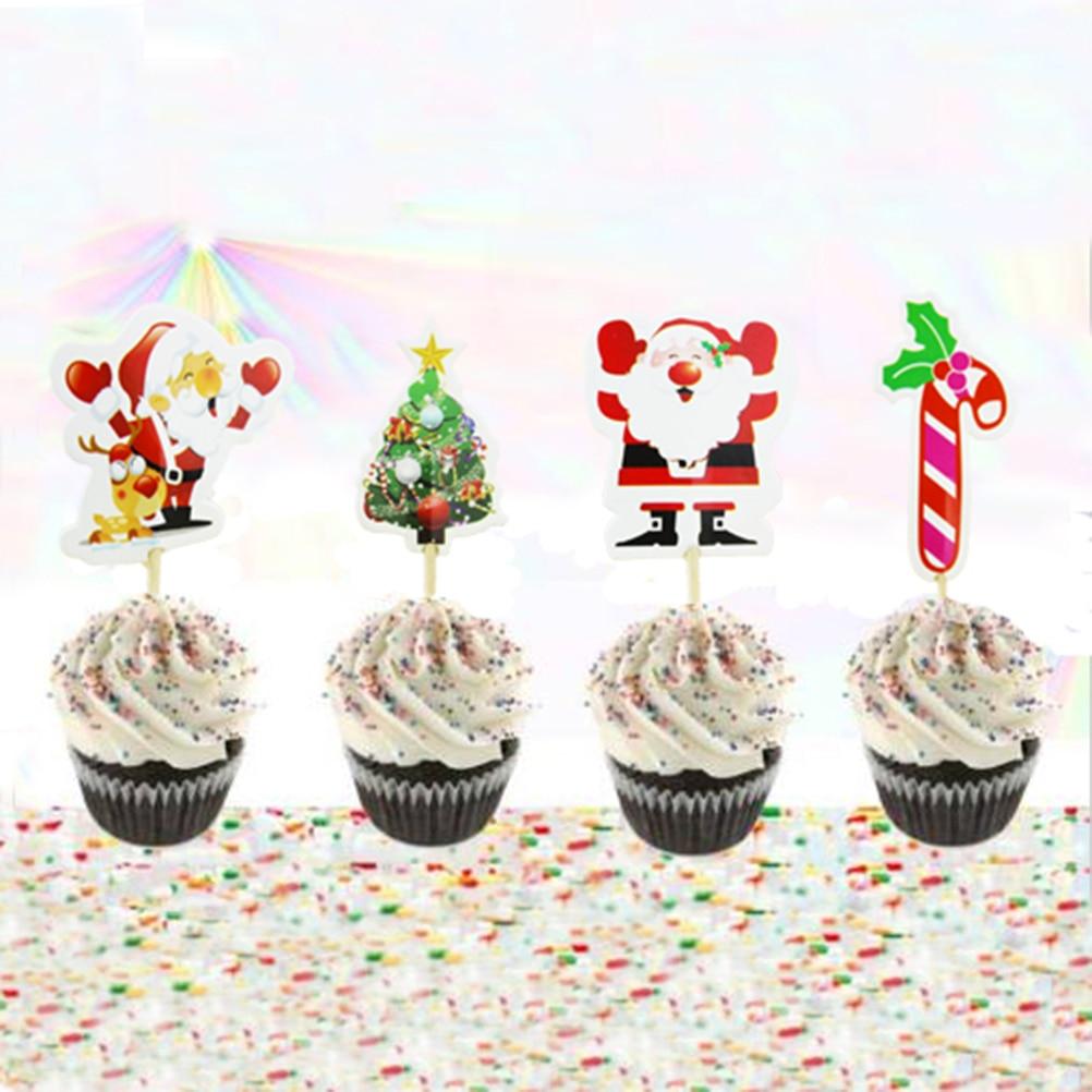 24pcs Mini Windmill Cupcake Toppers Picks Wedding Birthday Party Decorations