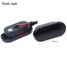 2x 18SMD Amber LED Fender Side Marker Turn Signal Lamps For Skoda Octavia Seat Ibiza Cordoba Toledo Leon C-max Focus Bora Golf