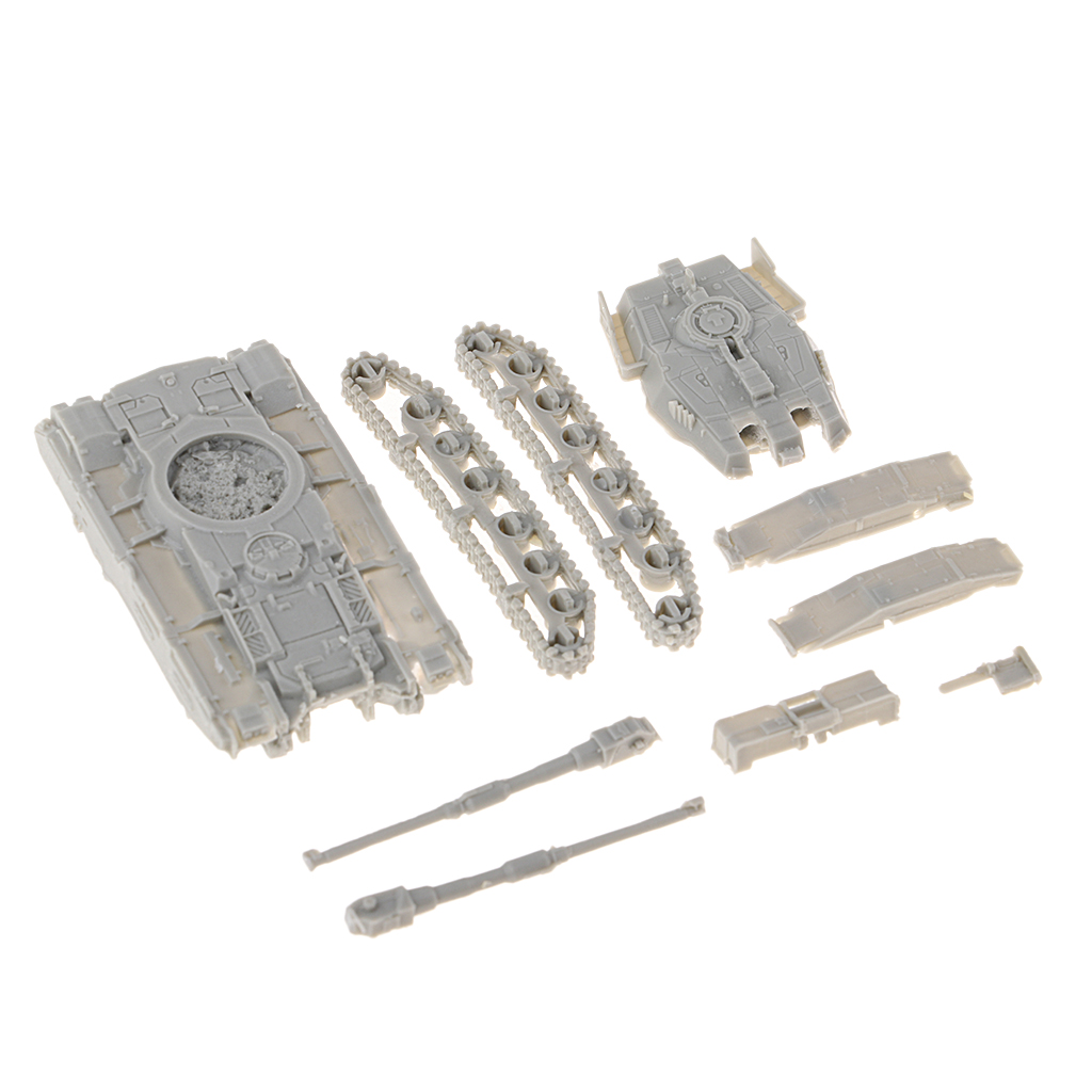 1:144 Scale Resin Union Army 61 Tank Model DIY Soldier Scene Accessories