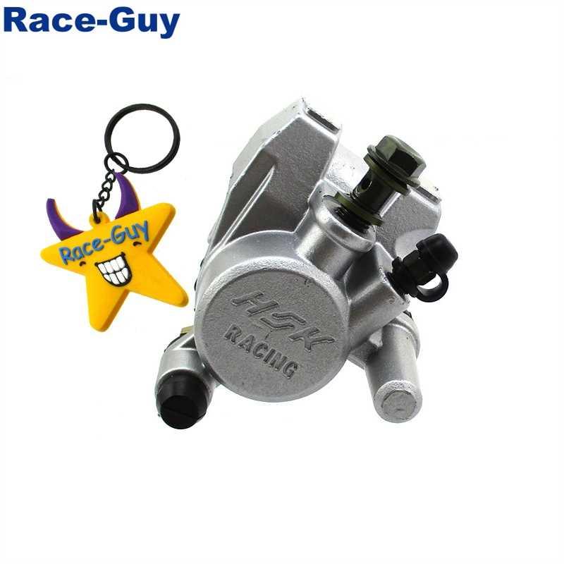 Étrier de frein à Piston unique avant M10x1.25 avec plaquettes de frein pour cyclomoteur GY6 50cc 125cc 150cc 250cc