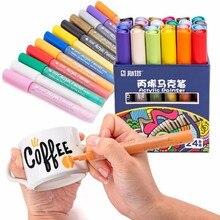STA маркер скетч для рисования акриловыми красками, набор канцелярских принадлежностей для творчества, маркер для рисования манги, школьные принадлежности для студентов, 12/24 цветов