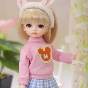 Image 3 - OUENEIFS Hebbe BJD YOSD Doll 1/6  Body Model Baby Girls Boys High Quality Toys Shop Resin Figures
