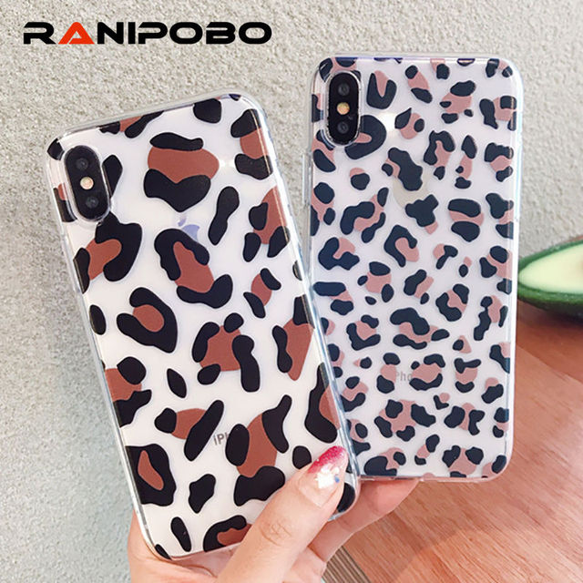 new arrival 8044f 54aad US $1.99 |Cool Leopard Print Ultra Slim Phone Case For iphone X XS Case For  iphone XR 7 6S 6 8 Plus XS Max Cover Soft TPU Cases Gift-in Fitted Cases ...