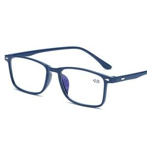 Men Reading Glasses Blue Film
