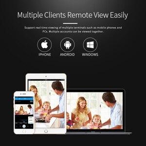 Image 5 - Cámara IP Wifi de Audio bidireccional, 720P, 960P, 1080P, seguridad inalámbrica Cctv para exteriores, resistente al agua, Mini altavoz infrarrojo de vigilancia HD de 2mp